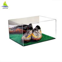 Best Custom Made Clear Acrylic Shoe Storage Box With Cover wholesale