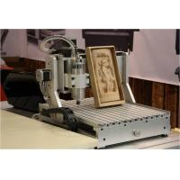 Best aman 2030 4-axis 1500W 3d cnc wood carving machine wood engraving cutting lathe wholesale