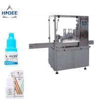 Best Eye Drop Bottle Filling Capping Machine High Accuracy For Glass Bottle wholesale
