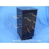 Best Custom countertop rotating necklace display case / acrylic jewelry display stand wholesale