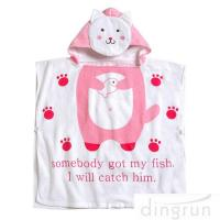 Best OEM Super Soft Personalized Cotton Hooded Poncho Towels Eco - Friendly wholesale