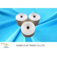 Best Spun Polyester Yarn 30s / 2 30s / 3 Count , Core Spun Polyester Sewing Thread wholesale