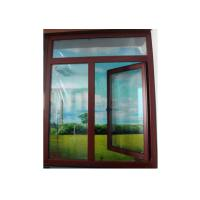 Best 1.4mm profile thickness wood grain, silver Bbrand new aluminum casement windows for villa wholesale