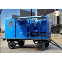 110KV Transformer Insulation Oil Purifier With Double Stage Vacuum Pump System