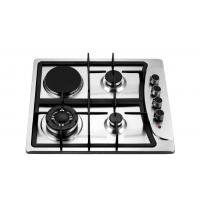 Best Four Burners Gas Oven And Hob , Gas Top Electric Oven 201 Stainless Steel Panel wholesale