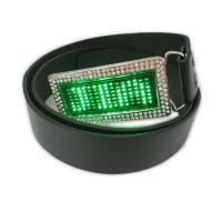 Best Scrolling message display led belt buckle wholesale