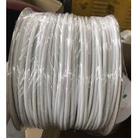 China Soft White PVC Tube For Electrical Wire Protective, White Flexible PVC Tubing Sleeves on sale