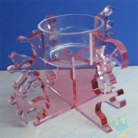 China CH (18) Acrylic tube candle holder on sale