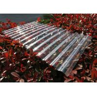 Best Transparent Corrugated Polycarbonate Sheets For Roofing UV Resistant wholesale