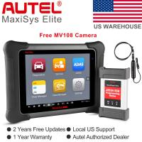 Best New  Autel MaxiSys Elite J2534 Program ECU Diagnostic Tool Scanner Better MK908P Pro 2GB RAM & 32GB Embedded Memory wholesale