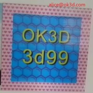 Best OK3D 360-degree three-dimensional depth fly eye lens sheet photo frames 360° 3d frame dot lenticular photo frame wholesale
