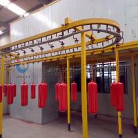Best Complete Powder Coating Line Powder Coating System For Fire Extinguisher wholesale