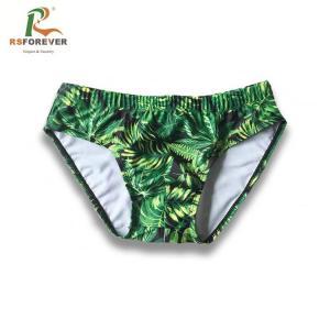 Best Wholesale custom printing lycra/spandex swimwear men swim briefs wholesale