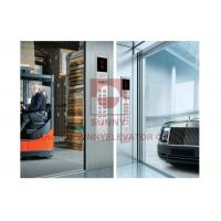 China Elevator Parts Checked Steel Plate Floor Freight Elevator Car Decoration With Large Space on sale