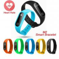 Best IP67 Waterproof Heart Rate Monitor Fitness Tracker Bluetooth Band M2 Smart Bracelet Wristband wholesale