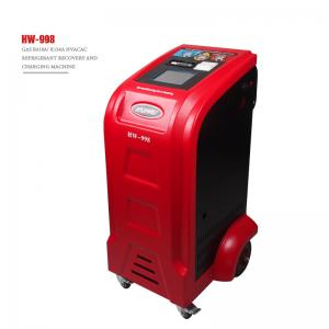 Best Portable R410a Refrigerant Recovery Car AC Service Station 1HP CE Certificate wholesale