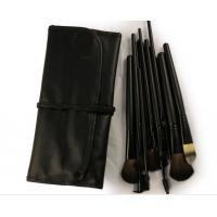 Best Pony Goat Pink Professional Makeup Brushes With Brush Cup Holder wholesale
