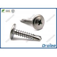 Best Marine Grade Stainless 316 Philips Modified Truss Head Self Drilling Screws wholesale