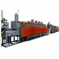 Best Electric Roller Screw Mesh Belt Furnace 150-280 Kg/H Quenching Productivity wholesale