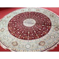 China Mulberry silk handmade carpet from China on sale