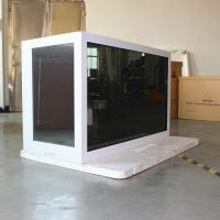China Plug And Play Transparent Touch Screen Display , Transparent Digital Screen on sale