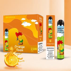 Best 1.2ml Disposable Electronic Cigarettes 270mAh OEM Design wholesale