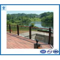 China aluminum deck railing/ U channel glass railings/glass balustrade on sale