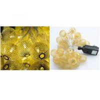 Best Copper Wire LED Fairy String Lights Xmas EU / US Plug For Different Countries wholesale
