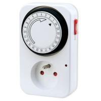 China 230V 16A Programmable Digital Light Timers , 24 Hour Timer Switch For Hydroponics on sale