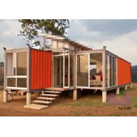 Buy cheap Custom Made Prefab Container Homes Luxury Shipping Container House from wholesalers