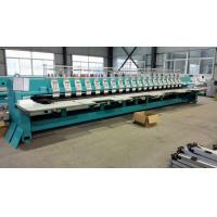 Best Computer Controlled Embroidery Machine , Quilting Embroidery Machine With 20 Heads wholesale