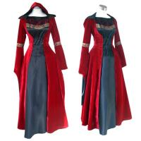 Best Medieval Dress Wholesale XXS to XXXL Red Gothic Renaissance Medieval Victorian Evening Dress Costume Cosplay wholesale