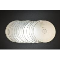 China 6inch -20inch Ultra Thin Sintered Diamond Lapidary Notched Rim Saw Blades With Single Directional Blades on sale