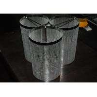 China Aviation / Nuclear Industry Stainless Steel Mesh Filter Cartridge Durable With Shape Custom on sale