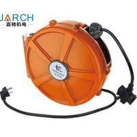 China Spring - Loaded Retractable Hose Reel PU Mesh Hose Material For Electrical Return on sale