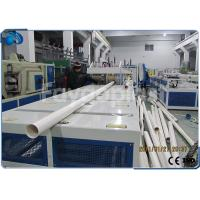 Best 75~250mm PVC Pipe Manufacturing Machine With Siemens PLC Electric Control wholesale