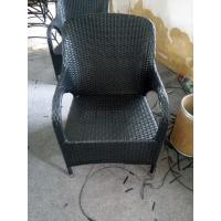 Best 2016 High quality Modern Plastic rattan chair with black color wholesale