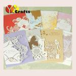 Best Handmade Wedding Greeting Card , christmas handmade cards OEM wholesale