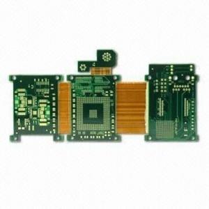 Immersion gold Rigid Flex PCB printed circuit boards for touch screen rigid flexible board