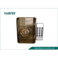 China EM Card Home Security Door Locks With Remote Control Open , Nickel Plating Finish on sale