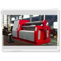 CNC Control Wind Tower Production Line Hydraulic 4 Roller Rolling Machine
