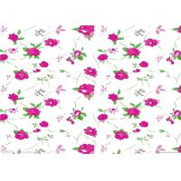 Best Fashion flower printed paper / sublimation paper roll for textile and garments wholesale