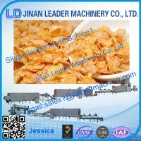 Best Corn flakes process line,2014 high quality cereal corn flakes extruder machine wholesale