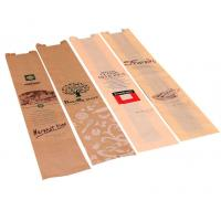 Cheap Custom Fast Food Paper Bags For Bread Using Environmental Friendly Material for sale