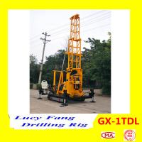 China China Made GX-1TDL Mini Crawler Mounted Soil Testing Drilling Rig With 30-150 m Depth on sale
