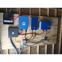 China Solar Pump System Domestic Solar Inverter / Off Grid Solar Inverter 0.37KW on sale