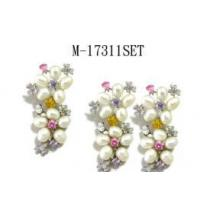 Best Fresh water Pearl and multicolor CZ Set wholesale