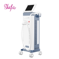 Best Newest Vertical diode laser hair removal 808nm / removal facial hair 808nm diode laser hair removal machine LF-647b wholesale