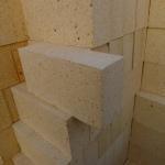 75%-80% Al2O3 High Alumina Refractory Brick Refractoriness 1790 Degrees C 230