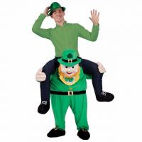 Best Funy Buddy St Patricks Mascot Novelty Oktoberfest New Unisex Ride on Carry Me Costume Animal Funny Fancy Dress Pants wholesale